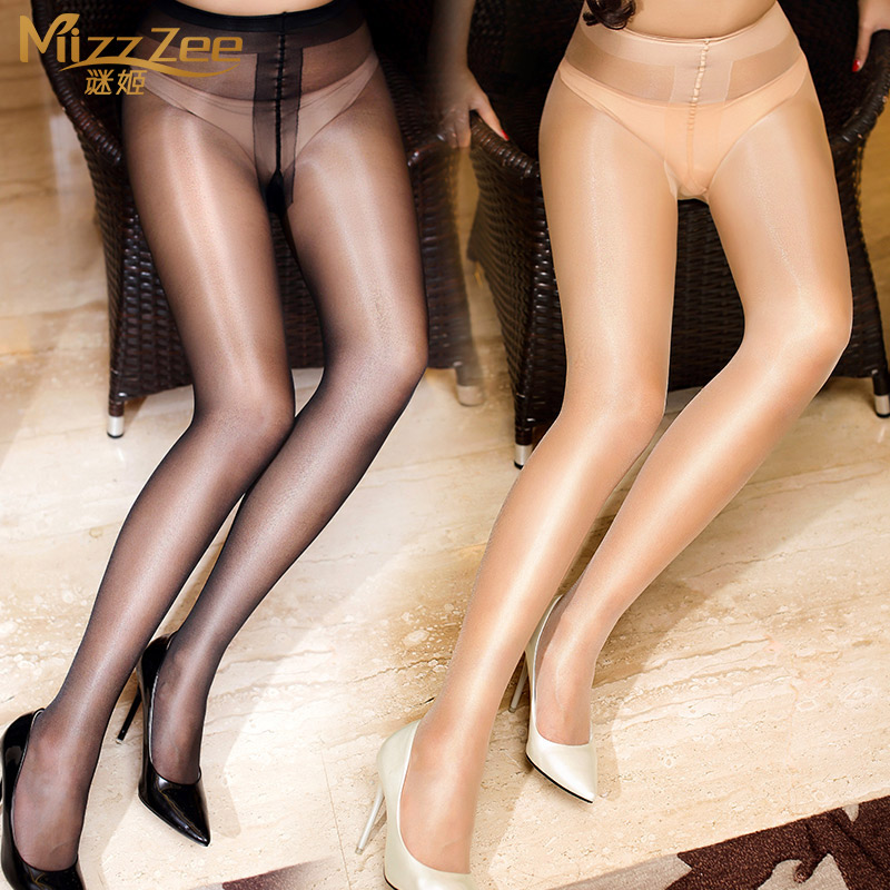 9117cdb4d24 Get Quotations · Sexy female sao t crotch crotch sexy stockings black  stockings temptation transparent shiny invisible toe pantyhose