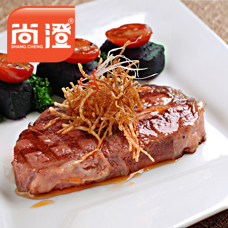 Shang cheng classic australia sirloin steak 150g fresh beef steak marinated family to send butter sauce