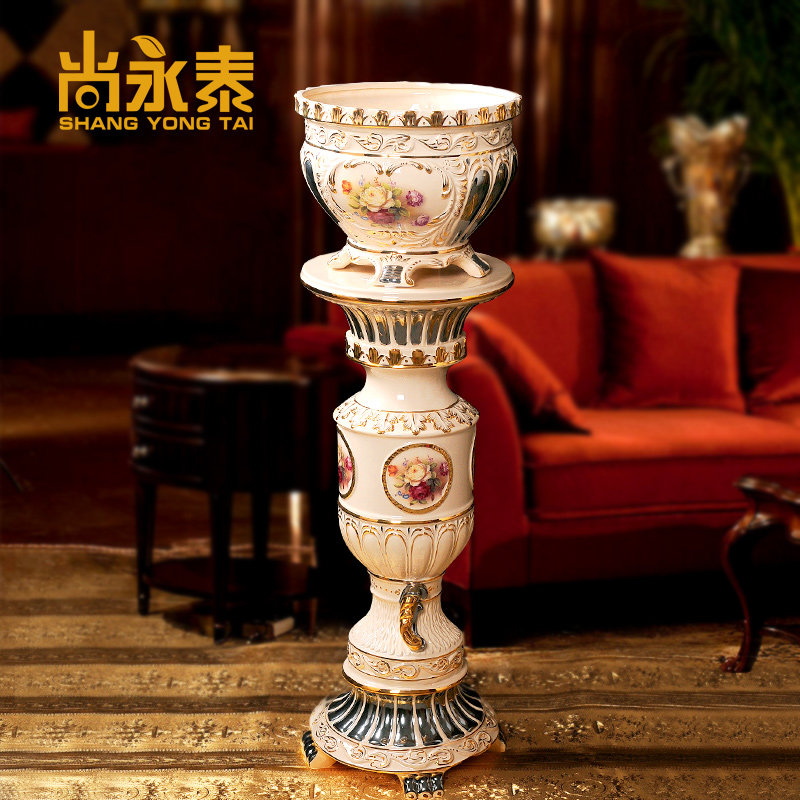 Shang yongtai european luxury living room king ceramic reliefs roman villa club model room decorations ornaments