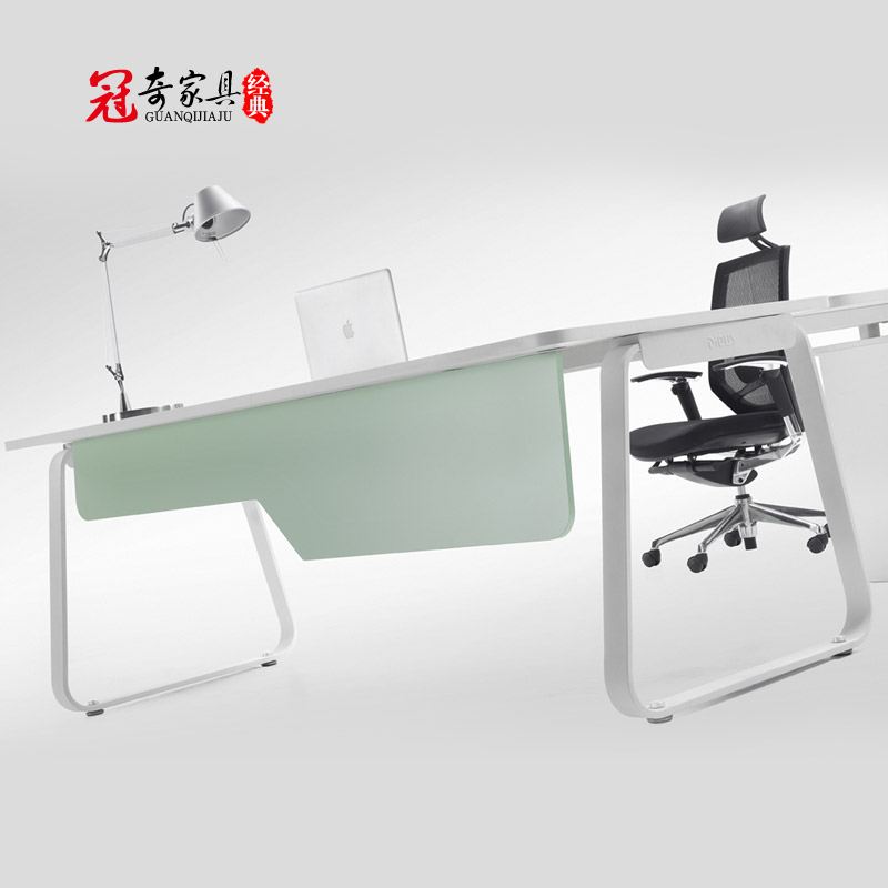 Shanghai guanqi minimalist office furniture plate boss desk desk desk manager minimalist modern desk desk desk supervisor