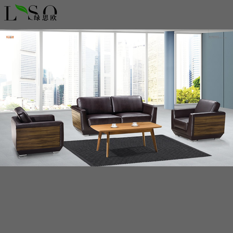 Shanghai office furniture conference reception sofa business combination parlor sofa office sofa stylish sofa
