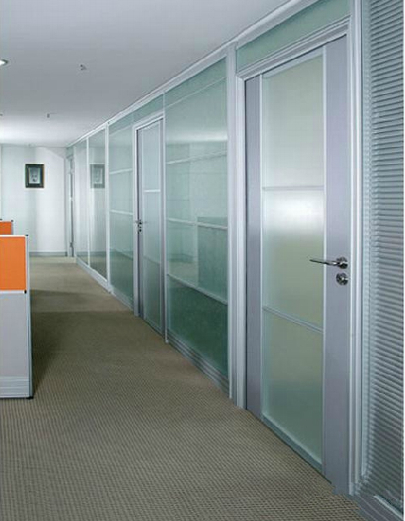 Shanghai office furniture factory direct high partition wall glass partition office high partition wall office wall
