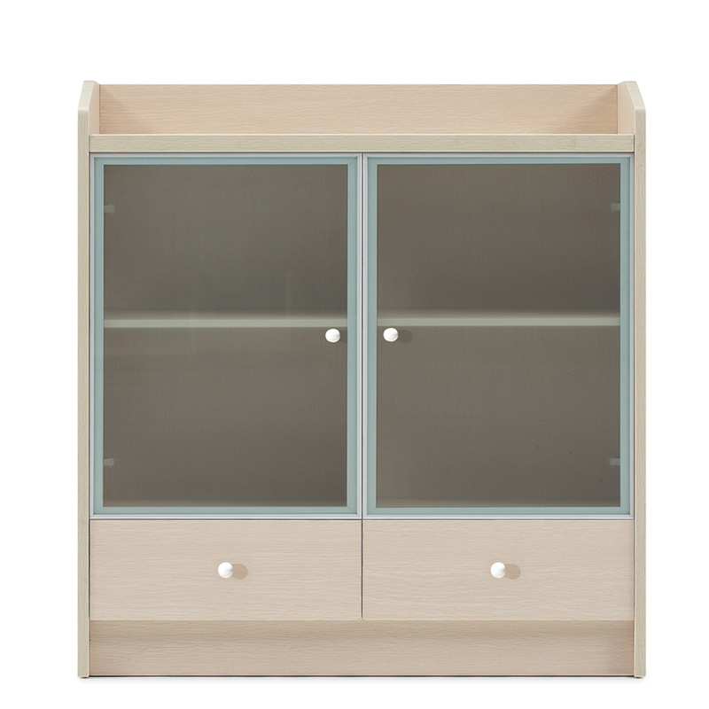 Shanghai office furniture wooden plate read wing low bookcase cabinet household pantry cabinet file cabinet aigui