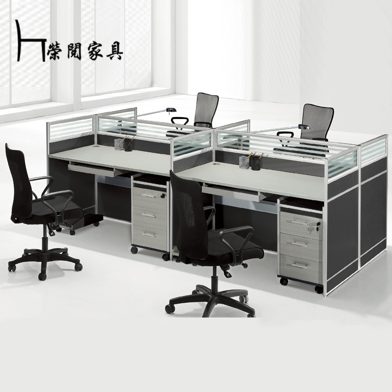 Shanghai read wing office furniture office desk staff tables screen desk desk desk staff office furniture