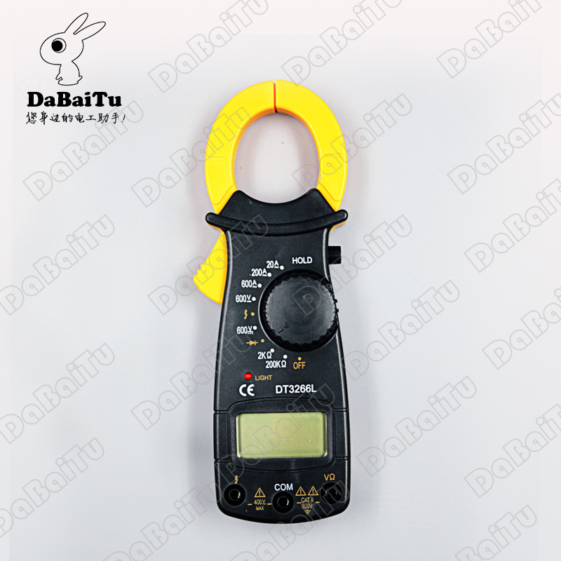 Shanghai sichuan instrument/leier da instrument digital multimeter digital clamp meter multimeter dt3266l