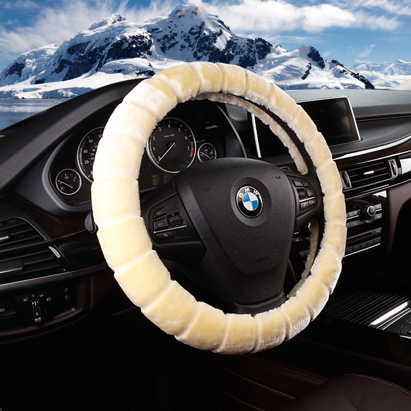 Shanghai volkswagen passat volkswagen lavida polo long lines touran dedicated winter plush steering wheel cover to cover