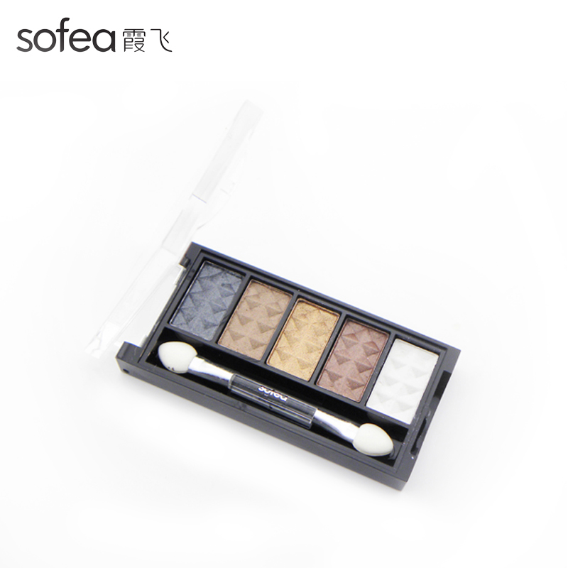 Shanghai xiafei maximo oliveros brightly colored eye shadow genuine pressed powder easy to color lasting makeup is not easy stereo