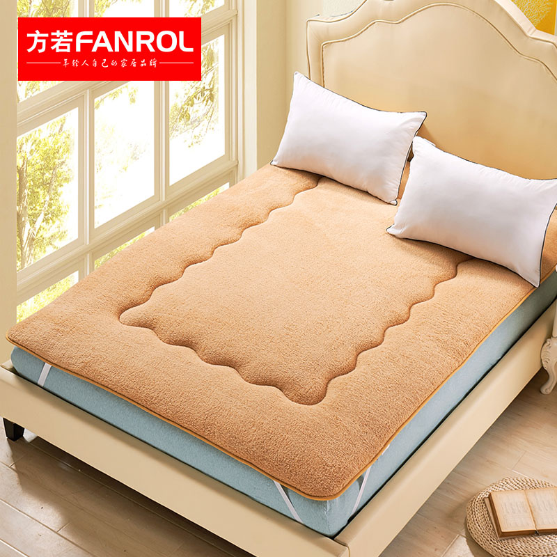 Sherpa tatami mattress mattress single double student dormitory 1 m thick sponge. m bed mattress pad is