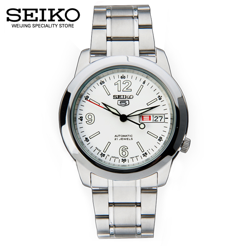 Shield no. 5 imported from japan seiko seiko watches for men automatic mechanical watches luminous waterproof strip snke57j1