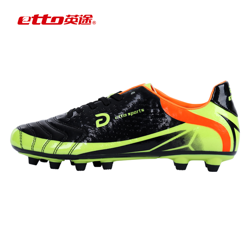 77c2f2e79 Get Quotations · Shipping way etto english soccer shoes spike artificial  turf soccer training shoes for children of men