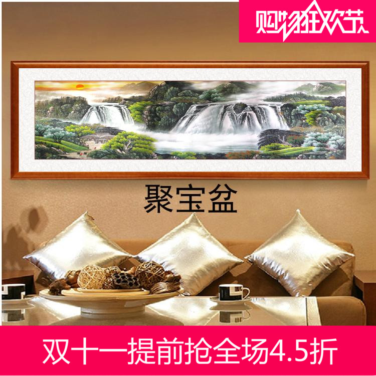 Should the united states of solid wood framed painting decorative painting cornucopia rising sun landscape painting decorative painting the living room office paintings prints