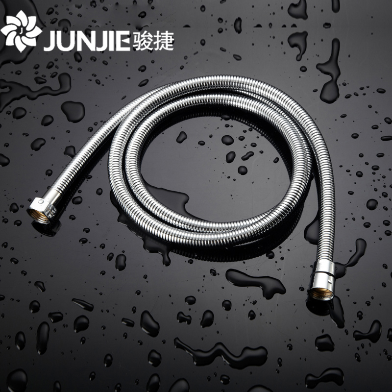 Shower showerhead shower hose stainless steel shower hose proof heaters rain shower pipe 1.5 m