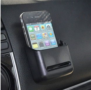 Shun wei adhesive multipurpose vehicle glove box bills debris storage box car phone holder cell phone holder