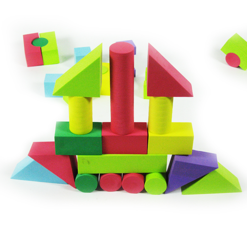 Sier fu eva foam blocks software boxed 1-2-3-6-year old baby educational toys teach early 100 yuan
