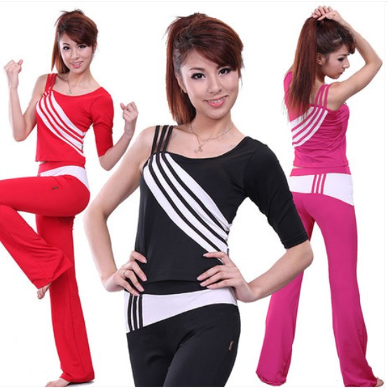 Sige figure aerobics workout clothes aerobics workout clothes female aerobics performance clothing spring and summer suit female students buy Specials