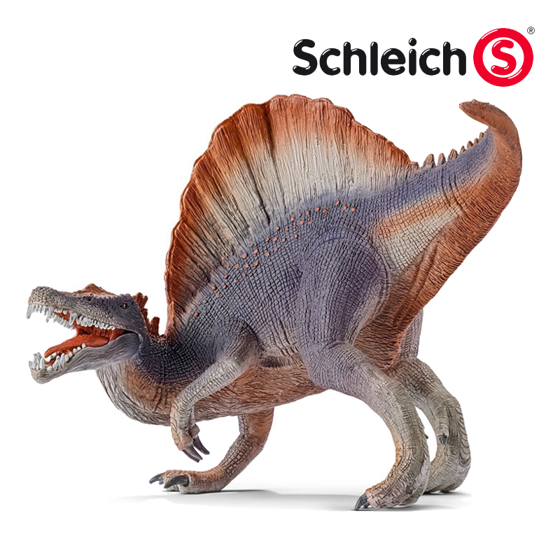 Sile schleich animal models of dinosaur spinosaurus S14542 toy plastic model toy