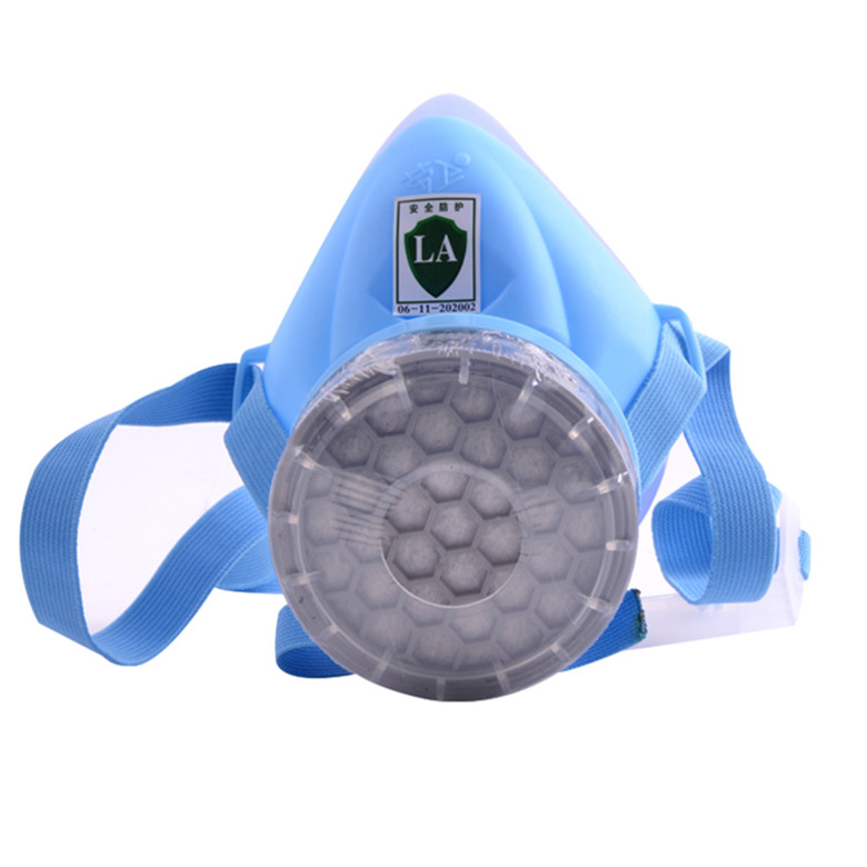 Silicone single tank of gas chemical pesticide respirator mask anti formaldehyde odor dust masks painting dedicated