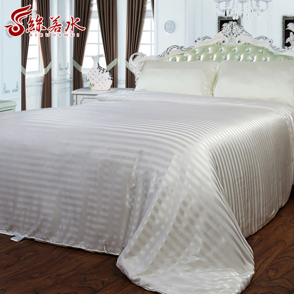 Silk is like quality handmade stuffed long silk 100% silk spring is the core silk satin soft skin