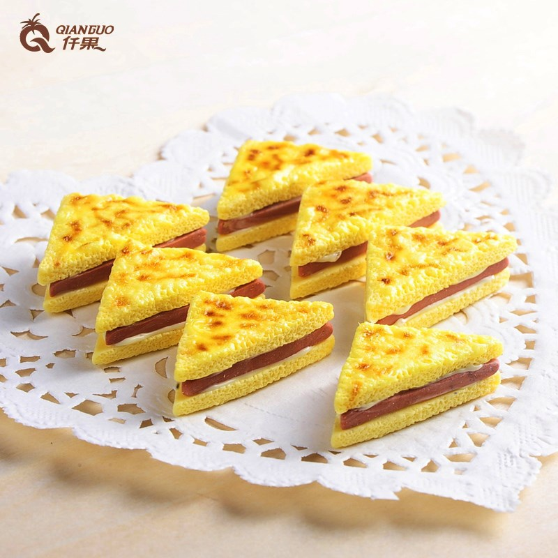 Simulation food sandwich iphone mobile beauty diy accessories siwan simulation cream production