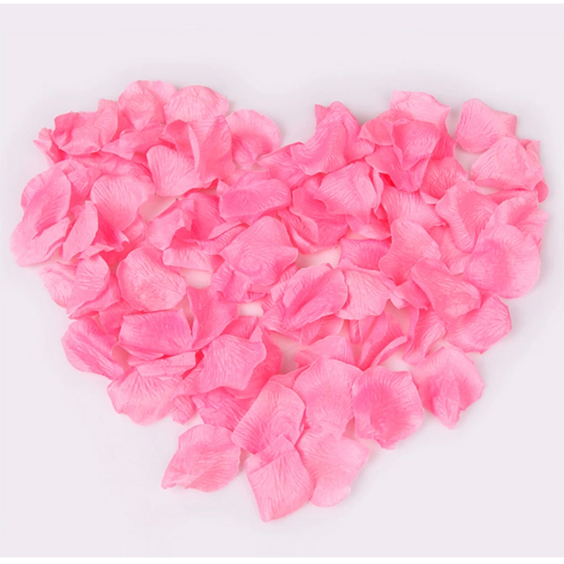 Simulation of rose petals arranged marriage room decoration supplies wedding supplies bed sahua wedding rose petals