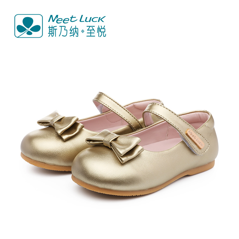 Sinai satisfied shoes girls shoes 2016 autumn new children in children bow princess shoes children shoes children shoes shoes