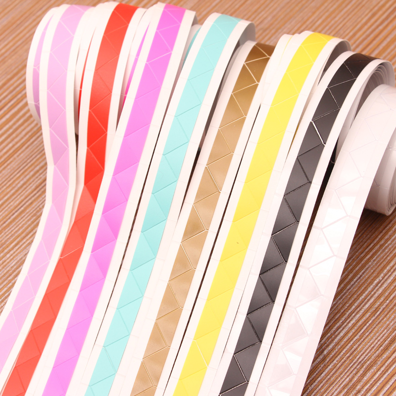 Since the roll of tape diy album corner stickers handmade materials tool accessories fixed photo corner stickers affixed angle 250