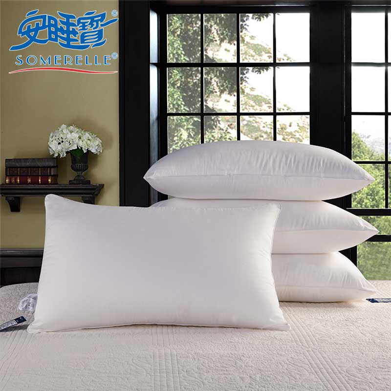 Sleep treasure pillow pillow cervical pillow pillow pillow genuine star hotel pillow one pair of adult students