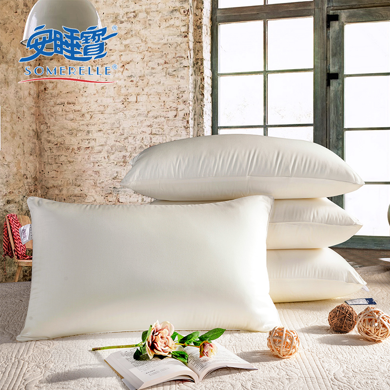 Sleep treasure pillow pillow genuine special adult star hotel pillow neck pillow cervical pillow pillow summer