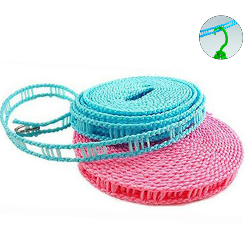 Slip clothesline drying is portable clothesline rope outdoor travel essential rope clothesline windproof supplies more than Function