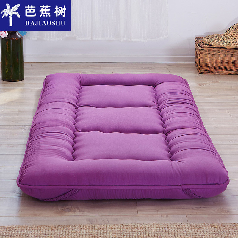 Slip thickening 10cm ground floor tatami mattress single double mattress 1.5/1.8 bed pad is