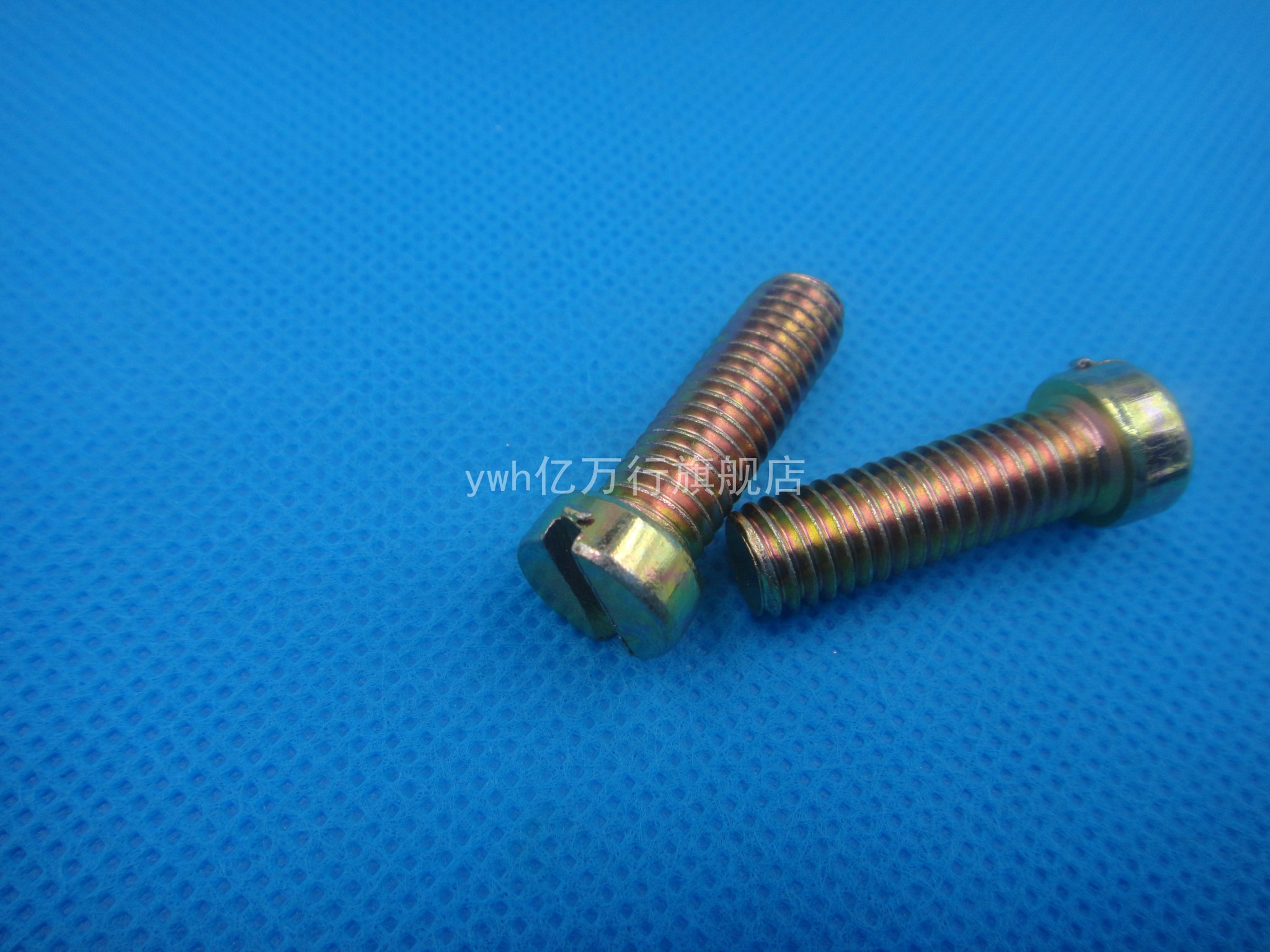 Slotted cylinder head screws color zinc plated screws gb65 word word slotted screw screw m6