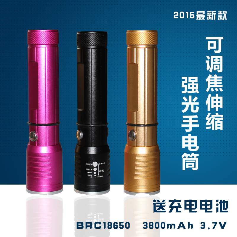 Smooth italian tour onboard multifunction led light mini flashlight retractable flashlight car essential equipment