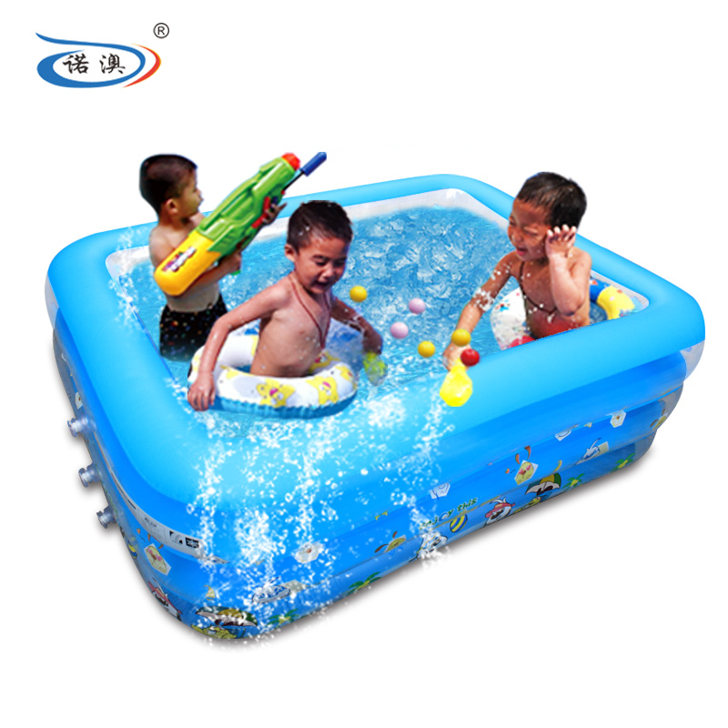Snow australia home children's inflatable swimming pool large family pool wading pool thickening adult bathtub