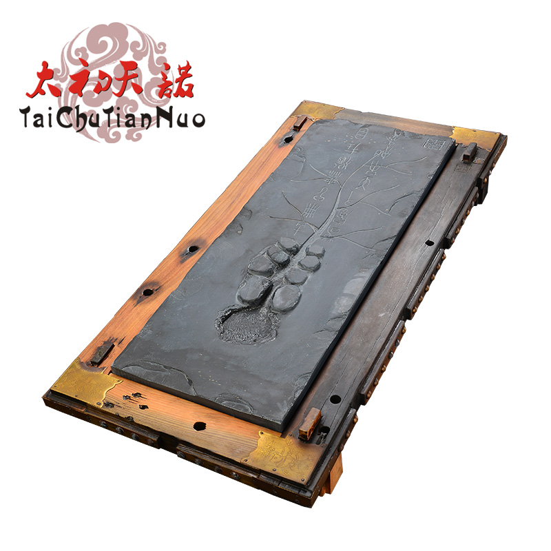 Snow was in the beginning days of black stone lotus pond old ship wood tea tray solid wood tea sea tea sets specials htys
