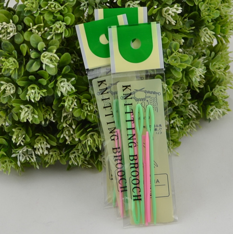 Snowy pride twist pin plastic knitting needles sweater needle sewing needle sewing needle needle needle knitting needle tool