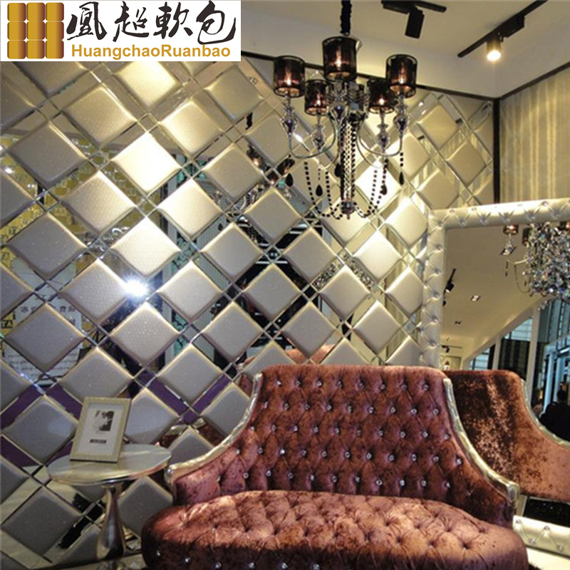 Soft bag backdrop living room bedroom sofa tv background bedside pidiao hard euclidian roolls mirror diamond fight