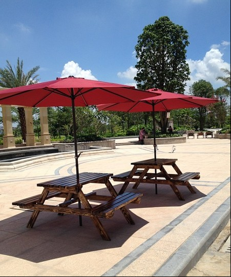 Solid wood tables and chairs tables and chairs for outdoor wood preservative carbonized wood tables and chairs leisure furniture hugh contadino dining tables and chairs park chairs