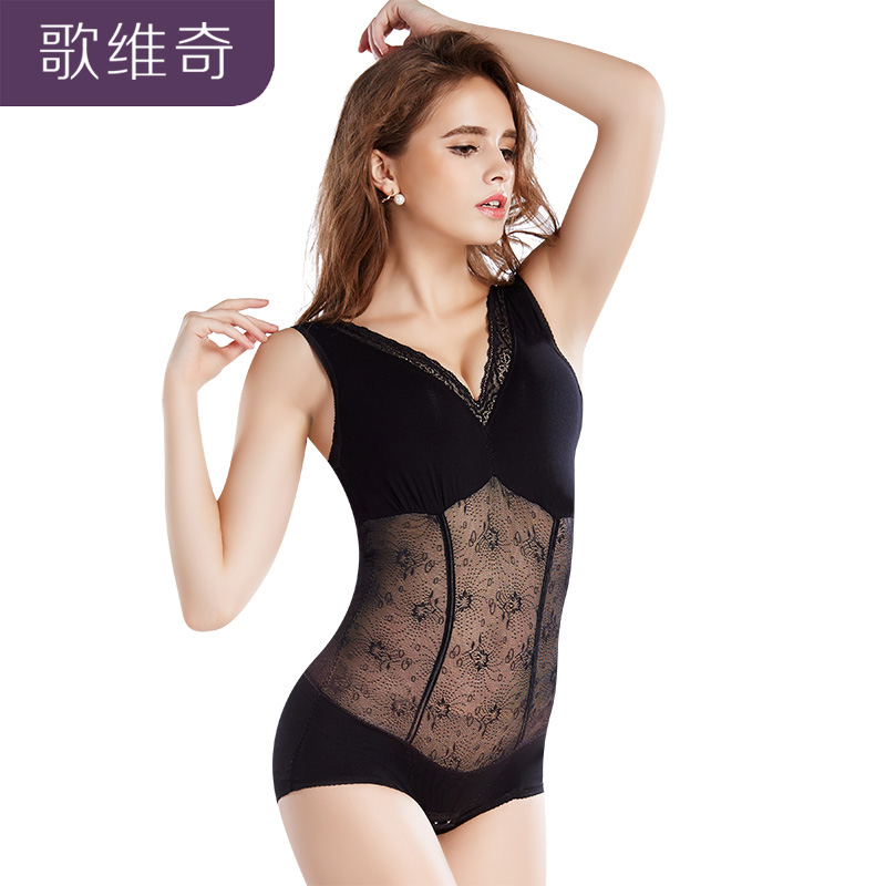 Song Å¡ahoviÄ spring and summer thin section abdomen siamese girly postpartum corset thin clothing seamless underwear hip body