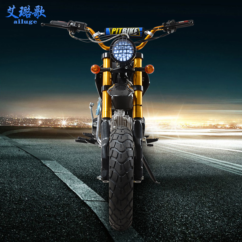 Song yi lu 125cc motocross bike single mini high season sport utility vehicle tire widening slip shipping