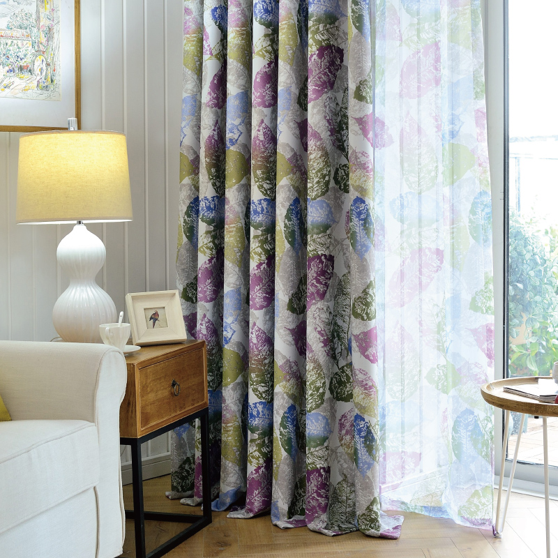 custom window curtains different style window get quotations south court custom modern pastoral printing thick full blackout curtain fabric finished living room bedroom windows china custom window films films shopping guide