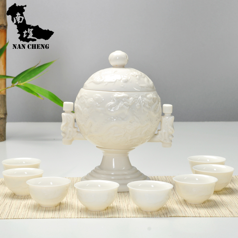 South courtyard ceramic automatic tea kowloon spirit automatic kung fu kung fu tea ceramic tea set gift boutique