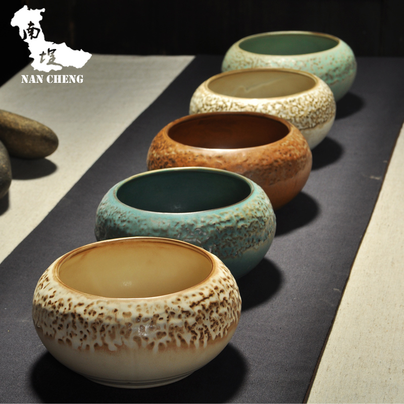 South courtyard kung fu tea to wash large stoneware vintage japanese stoneware tea tea wash water to wash tea accessories
