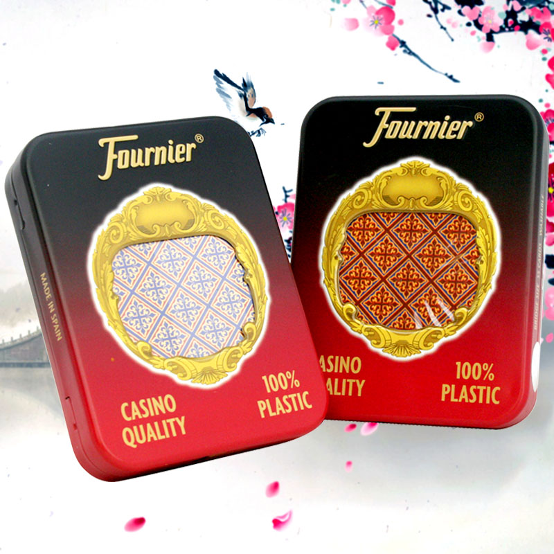Spain fournier fournier all plastic cards pvc frosted plastic cards s205