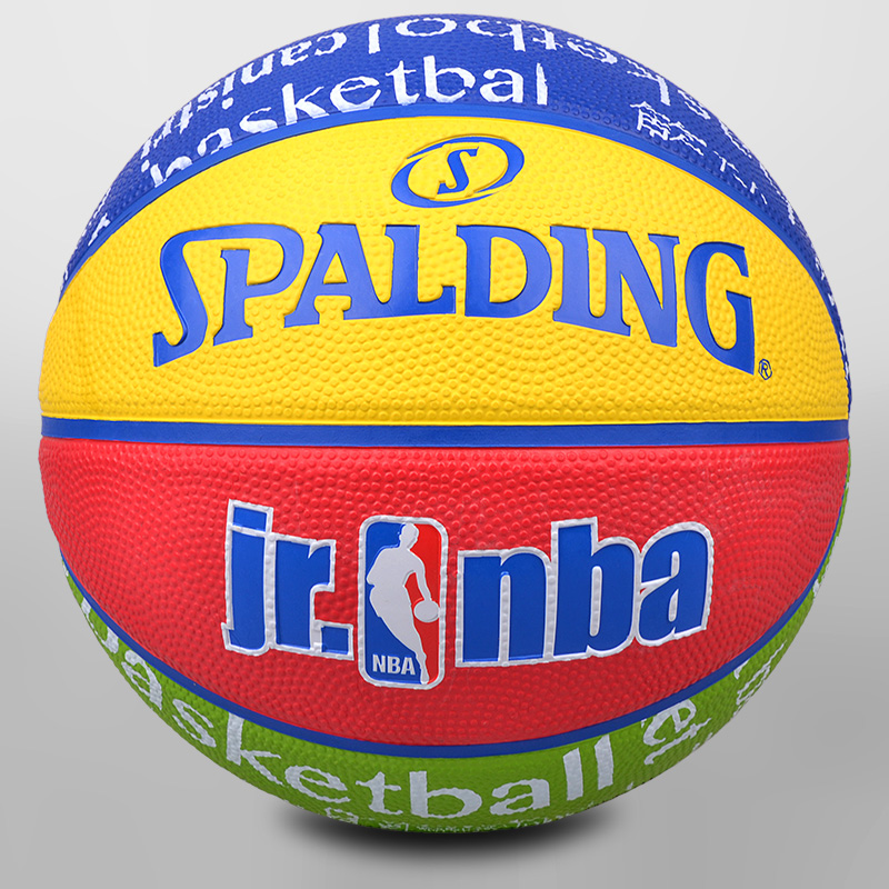 Spalding spalding nba basketball series dedicated adult children rubber basketball indoor and outdoor ball no. 7 no. 5