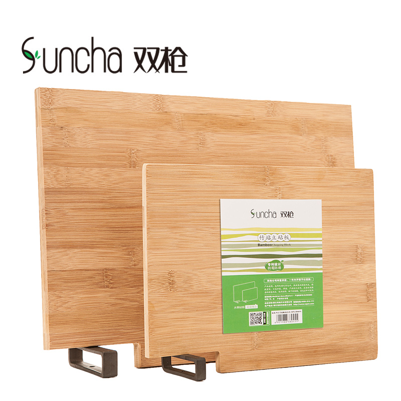 Spear bamboo cutting boards bamboo cutting board antibacterial cutting board green wood cutting board rectangular cutting board cut fruit chopping kitchen suite