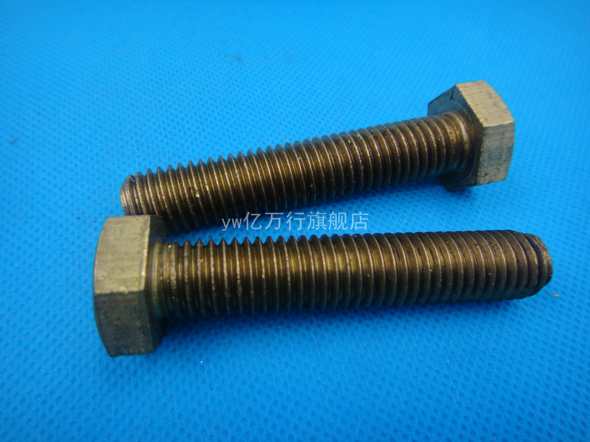 Special brass screws/copper hex bolts/hex screws copper/copper hex head bolts m6 * 10--60