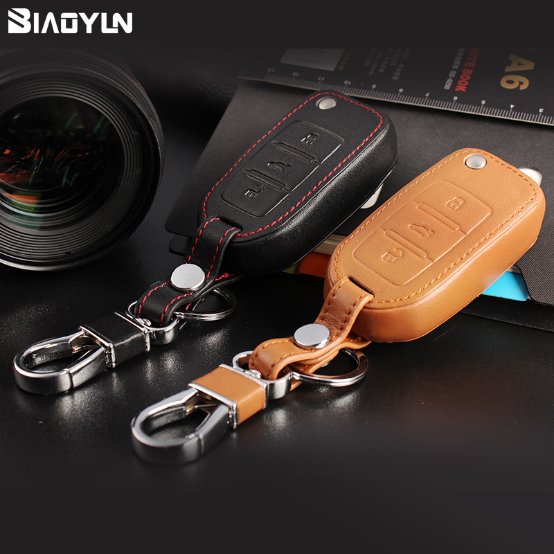 Special leather key cases volkswagen tiguan lavida bora jetta sagitar touran passat magotan cc wallets
