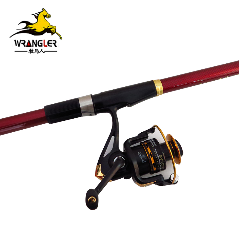 Special sea pole wrangler red sword 2.1/2.4/2.7/3.0/3.6 m carbon fishing rod cast rod Fishing gear