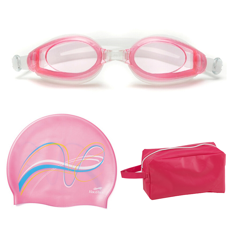 Special summer men women children boys and girls swimming equipment swimming bag swimming goggles swimming cap suit