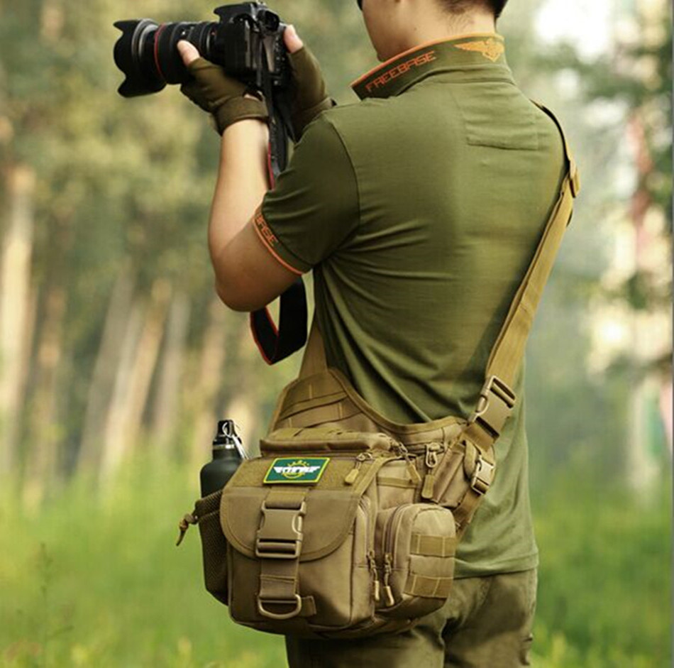 714cb61111 Get Quotations · Sports and leisure backpack tactical military fans saddle  bag camera bag slr camera bag outdoor men